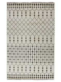Moroccan Hand-Knotted Rug by Bashian Rugs at Gilt
