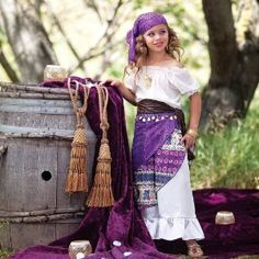 Very cute gypsy costume for a little girl