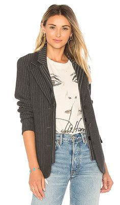 4f12e78d5cbc7 Shop for Bailey 44 Crown Jewel Pinstripe Jacket in Marengo at REVOLVE. Free  2-
