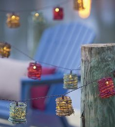 Make more beautiful your lighting with eco friendly solar string lights