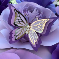 Butterfly Decorations, Butterfly Crafts, Butterfly Art, Flower Crafts, Paper Flowers Craft, Paper Flower Backdrop, Paper Roses, Paper Crafts, Baby Shower Deco