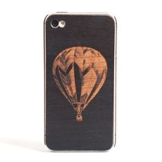 Balloon iPhone Cover Blk Cherry by: .free clothing company