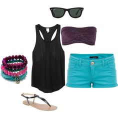 """""""summer"""" by elsa-swanson on Polyvore"""