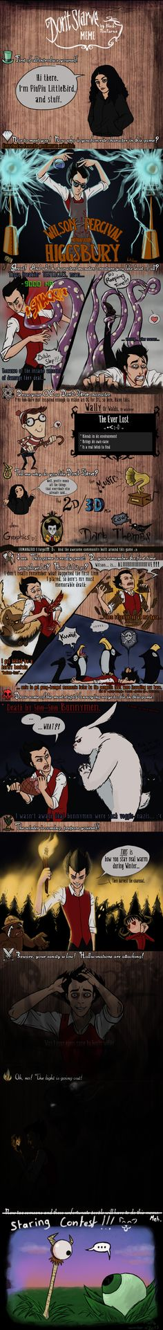 Don't Starve Meme by PiuPiu-Littlebird on DeviantArt