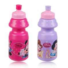 sports bottle lids   ... Disney Non Drip Spill Child Sports Pull Top Bottle Drinks Water Lid