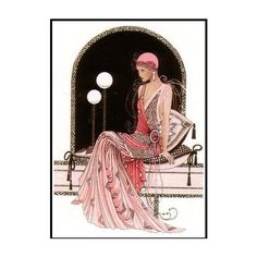 Art deco image by D-J-HARVEY on Photobucket ❤ liked on Polyvore featuring art deco, backgrounds, art and victorian
