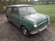 Austin Mini Countryman stored for 30 years