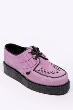 huge selection of df3c3 9d9c4  3 Underground Shoes Lilac Suede Creepers. Urban Outfitters, Hipsters
