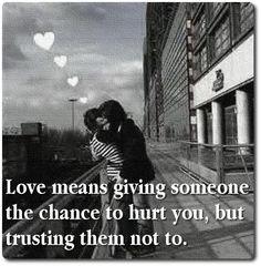 Love Needs Trust