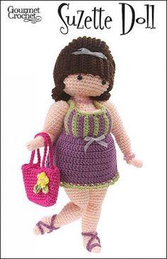 OMG lookit this curvy crochet lady!