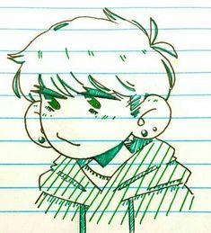 anyways heres wonderwall : Photo Anime Drawings Sketches, Cartoon Drawings, Cool Drawings, Cute Art Styles, Cartoon Art Styles, Art Reference Poses, Drawing Reference, Arte Sketchbook, Drawing Base