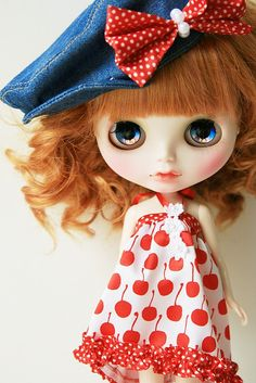 custom blythe by euniceeva, via Flickr