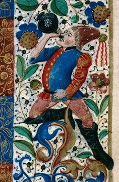 Heures à l'usage de Rouen. 1460-1470
