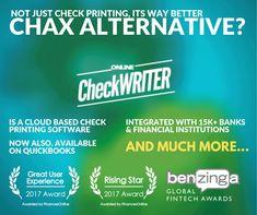 Chax Alternative - Print Checks Online Anywhere any printer - Blank paper