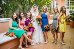 If color is your thing, this wedding is for you. If color is not your thing, prepare to have your mind changed by Branching Out Floral & Event Design . This wedding , captured beautifully by Amy Herfu...