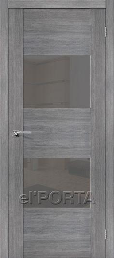 Interior Doors / Vetro VG2 Grey