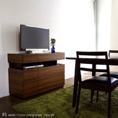 RS 幅115cm ローチェスト 電話台 ファックス台 北欧 TEL台 FAX台 国産 日本製 木製 ハイタイプテレビ台 カラー ブラウン BR 【 g r o v e 】, http://www.amazon.co.jp/dp/B00CHGQZ0Y/ref=cm_sw_r_pi_dp_HtnZrb14Y9GQT