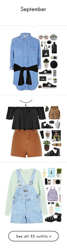 """September"" by amy-lopez-cxxi ❤ liked on Polyvore featuring Topshop, New Balance, Linda Farrow, adidas, philosophy, Kenzo, Ryan Roche, Casetify, David Yurman and River Island"