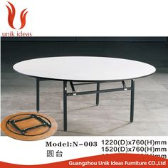 Wholesale Hotel Folding Round Cheap Pvc Banquet Tables