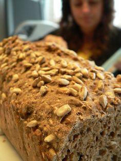 Kneedloos brood via Mie Flavie #recept