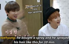 bts on jeongguk's fetus hairstyle and the days when he could be bullied. (4/6)