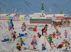 images of naive art | Zuzana Chalupova