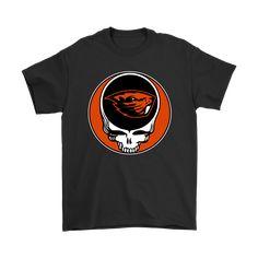 NCAA Football Oregon State Beavers x Grateful Dead Shirts - NFL T-Shirts Store  nfltshirt.com/ #GratefulDead #NCAA #Oregon