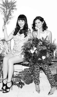 Holiday Issue: Cooks Jasmine & Melissa Hemsley on Yuletide Entertaining   Tory Daily