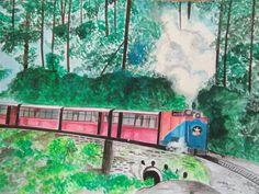 Shimla Shimla, Painting, Art, Art Background, Painting Art, Paintings, Kunst, Drawings, Art Education