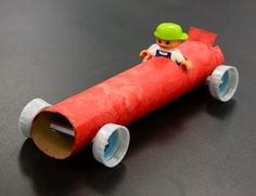 Making a toilet paper roll car craft is a great and fun activity for preschoolers students. You can also teach them that something unused can be recycled into a great thing such as a toy. So, what kind of car… Continue Reading → Paper Towel Roll Crafts, Paper Towel Tubes, Paper Towel Rolls, Toilet Paper Roll Crafts, Crafts For Boys, Diy For Kids, Recycled Toys, Balloon Cars, Tube Carton
