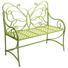 Butterfly garden bench (for my secret garden).