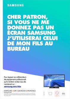 Samsung #advertising #print I Nicolas Baral