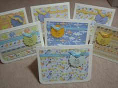 baby shower thank you cards (gift for the mom to be)