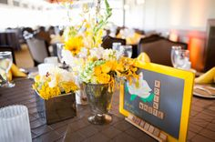 Yellow Wedding Inspiration: Shannon and Brian