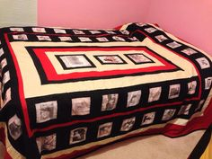 Elford family genealogy quilt prepared in 2013 by sherry