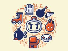 Bomberman Essentials by Fabricio Rosa Marques