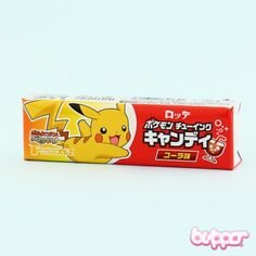 Pokemon Snacks, Pokemon Candy, Japanese Snacks, Japanese Candy, Chewing Gum, Lion King Pictures, Pikachu, Chewy Candy, Kawaii Shop