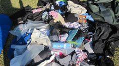 Lovely - the laundry pile back home. Photo Gallery – Eva Melusine Thieme