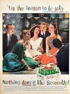 Retro Advertising, Retro Ads, Vintage Advertisements, Vintage Ads, Retro Christmas, Christmas Carol, Christmas Time, Coca Cola, Pepsi