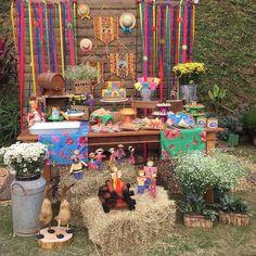 Festa junina infantil: 35 decorações para você se inspirar | Bebe.com.br