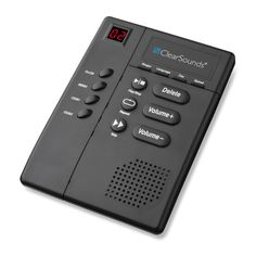 ClearSounds Amplified Answering Machine #CS-ANS3000