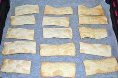 » Crackers con esubero di pasta madre - Ricetta Crackers con esubero di pasta madre di Misya