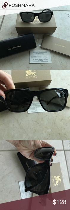 Authentic Burberry Sunglasses EUC. Authentic. Burberry sunglasses, 58mm. Includes case, booklet, box and glasses. Burberry Accessories Sunglasses