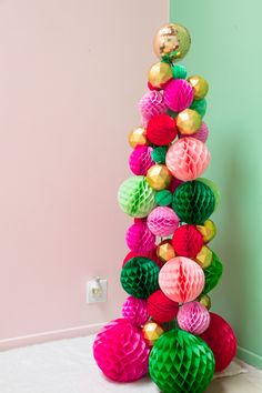 Holiday Party Tree by Oh Joy in partnership with Air Wick