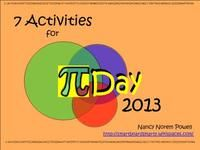 7 Activities for Pi Day Word, and .pdf files available. There is another file on this page with more activities from Enjoy Math Games For Kids, Fun Math Activities, Math Resources, Teaching Schools, Teaching Tips, Teaching Math, Math Tutor, Math Teacher, Math Math