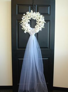spring wreath-wedding door wreath front door by aniamelisa on Etsy