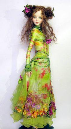 milana chupa-dubrova art dolls   ... Milana Chupa-Dubrova - the Russian doll makers are incredibly talented