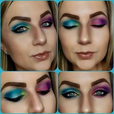 Juvias place masquerade palette and zulu palette. Bhcosmetics take me back to Brazil palette, club Tropicana palette and festival palette.