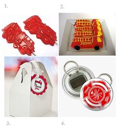 Are you planning a wedding or party with the firefighter theme