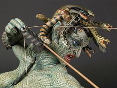 "Medusa by Chris Wauchop (Geo Metrics 1/6) ""Clash of the Titans"""